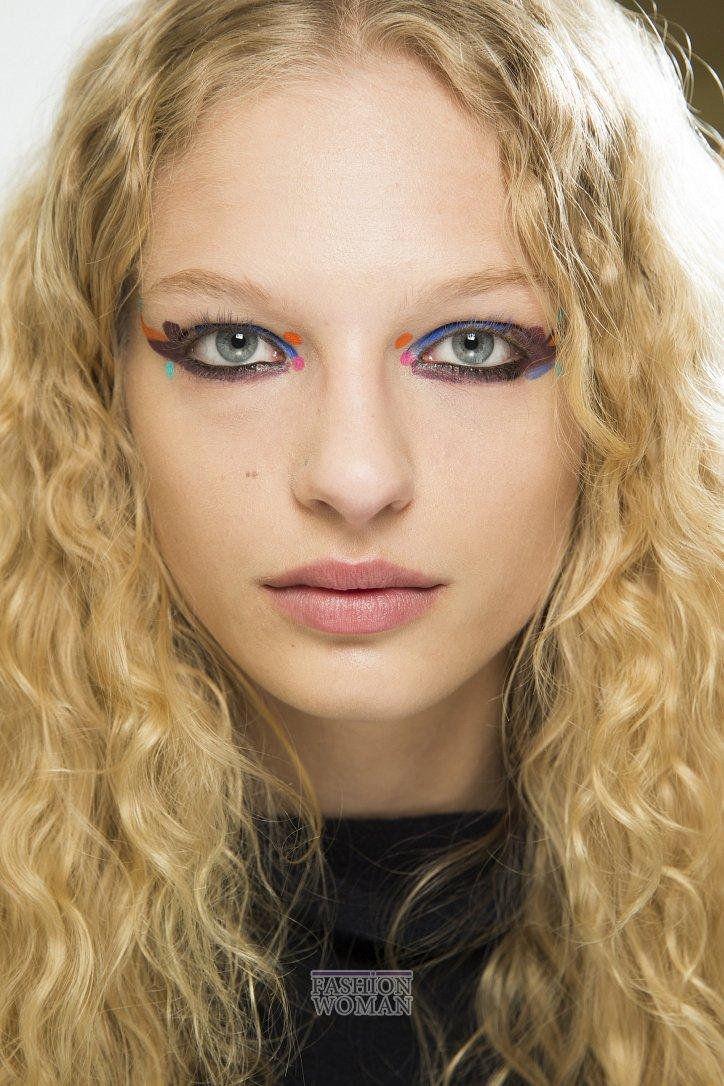 Модный макияж осень-зима 2016-2017 фото №17