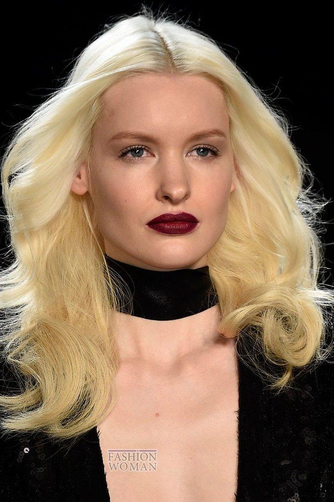 Модный макияж осень-зима 2016-2017 фото №27