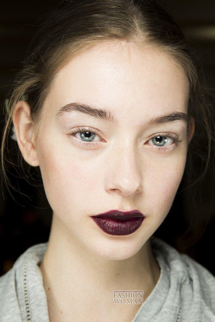 Модный макияж осень-зима 2016-2017 фото №24