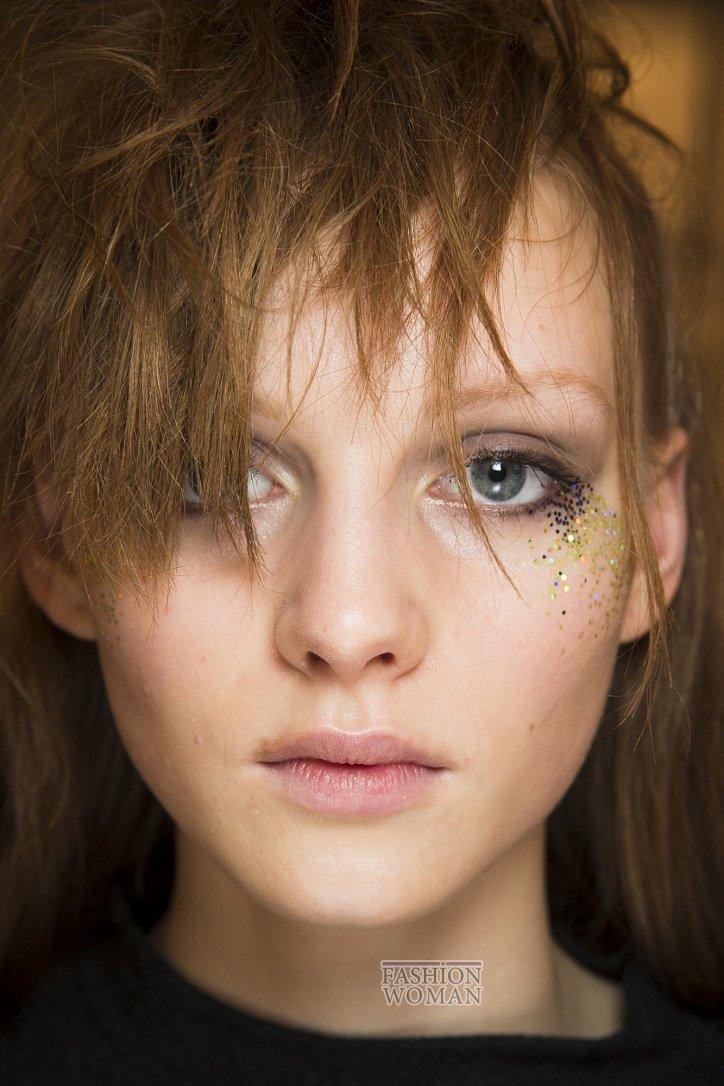 Модный макияж осень-зима 2016-2017 фото №28