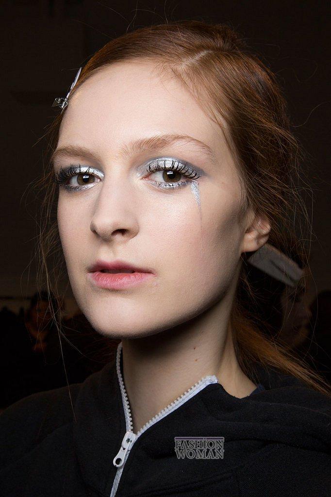 Модный макияж осень-зима 2016-2017 фото №31
