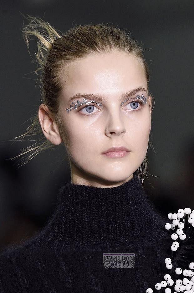 Модный макияж осень-зима 2016-2017 фото №34