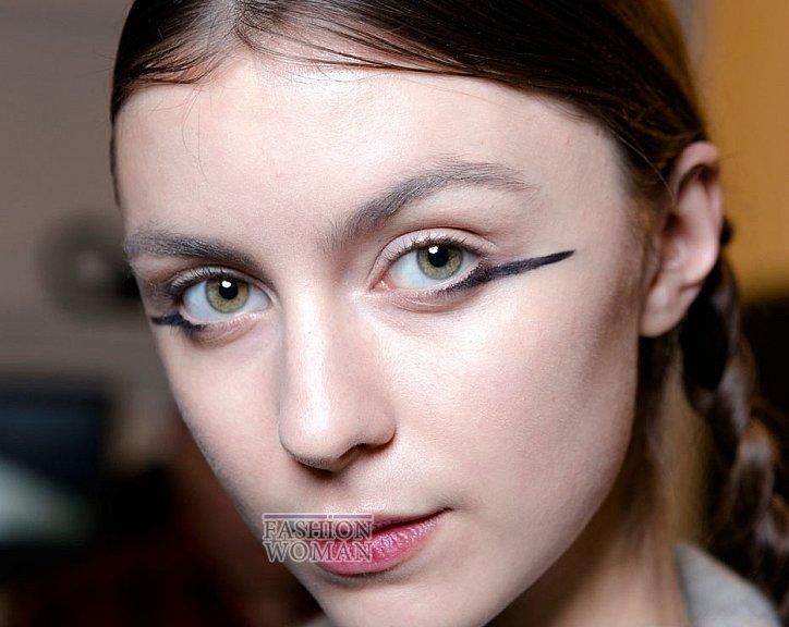 Модный макияж осень-зима 2016-2017 фото №16