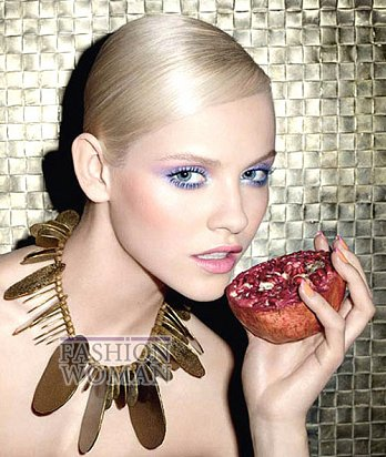 Модный макияж весна 2012 от Yves Saint Laurent фото №9