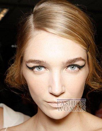 Модный макияж весна-лето 2012 фото №11