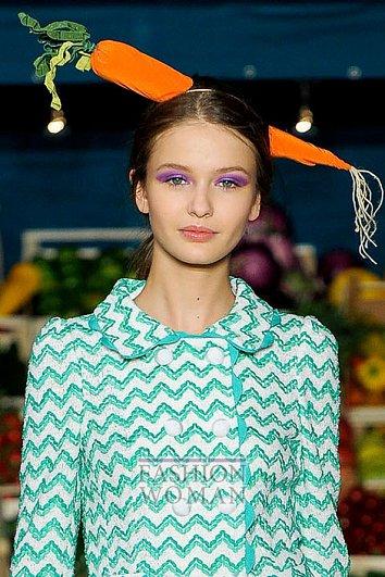 Модный макияж весна-лето 2012 фото №15