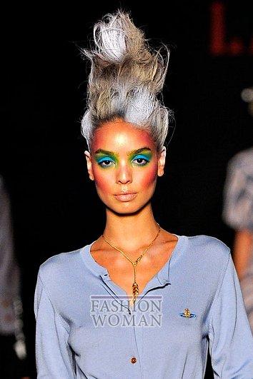 Модный макияж весна-лето 2012 фото №19