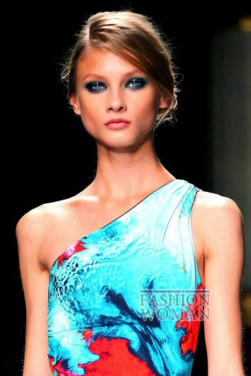 Модный макияж весна-лето 2012 фото №23