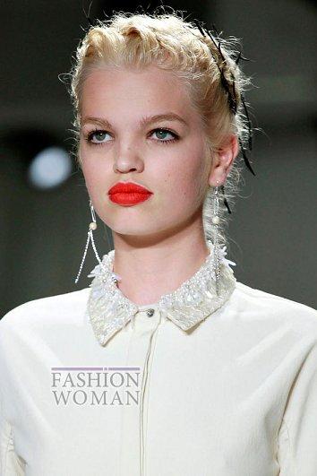 Модный макияж весна-лето 2012 фото №27