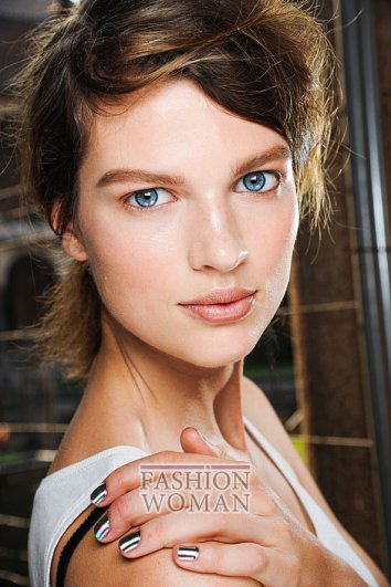 Модный макияж весна-лето 2012 фото №34
