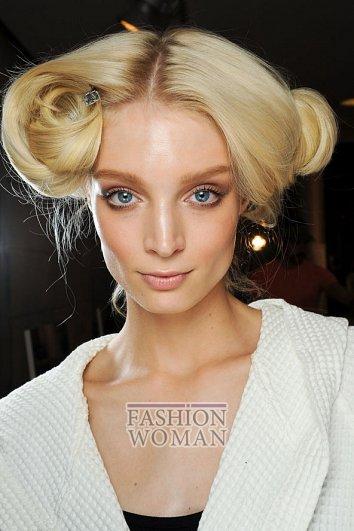 Модный макияж весна-лето 2012 фото №5