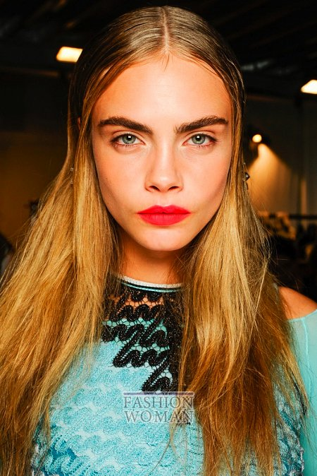 самый модный макияж 2013