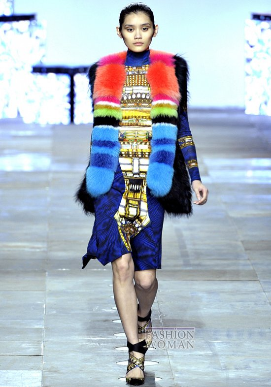 Модный мех зима 2013 фото №23