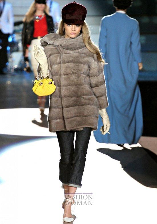 Модный мех зима 2013 фото №4