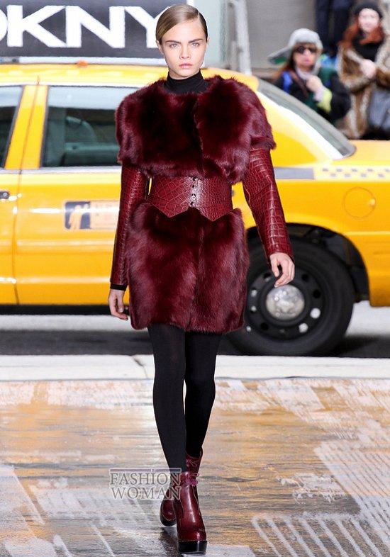 Модный мех зима 2013 фото №39