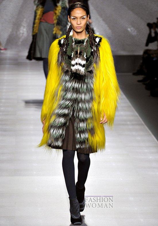 Модный мех зима 2013 фото №41