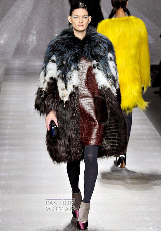 Модный мех зима 2013 фото №7