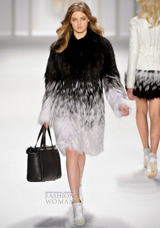 Модный мех зима 2013 фото №8