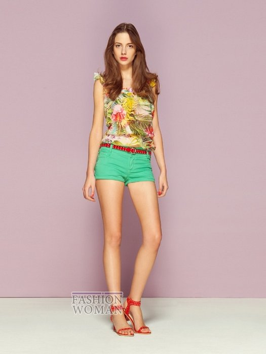 молодежная мода лето 2013