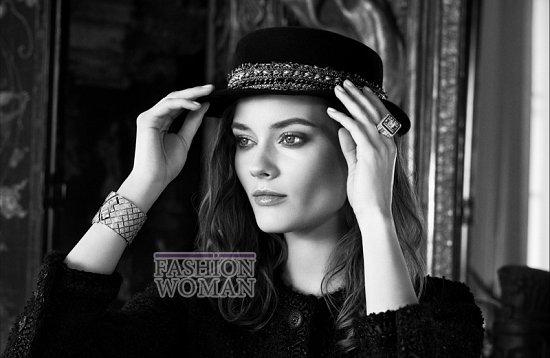 """Моника """"Як"""" Ягачак в рекламе новой коллекции ювелирных украшений Chanel фото №5"""