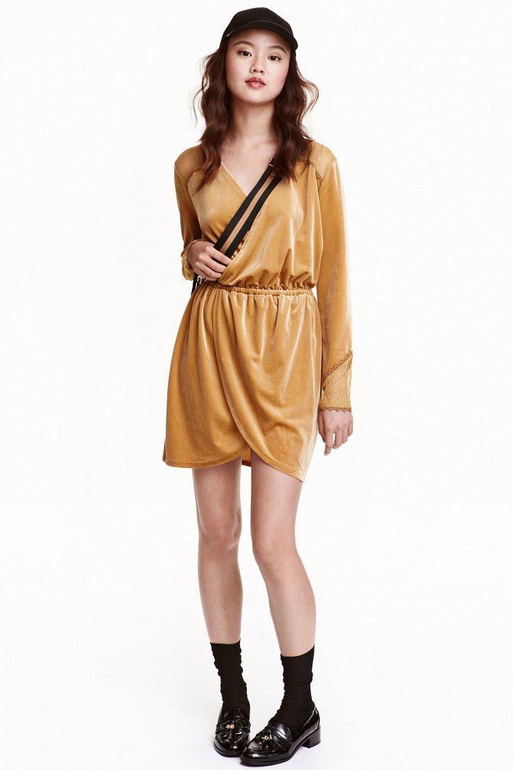 На заметку: 10 бархатных платьев для особого случая фото №7