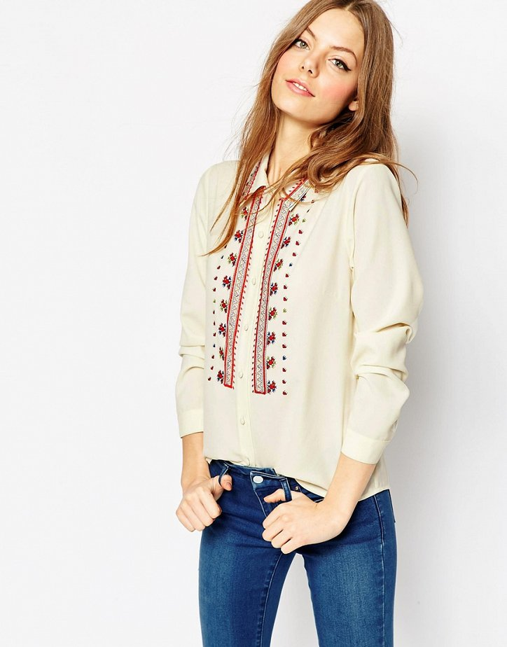 На заметку: 10 классных рубашек и блузок дешевле 60 евро фото №7