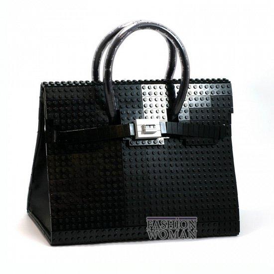 Необычная сумка Hermes Birkin Lego