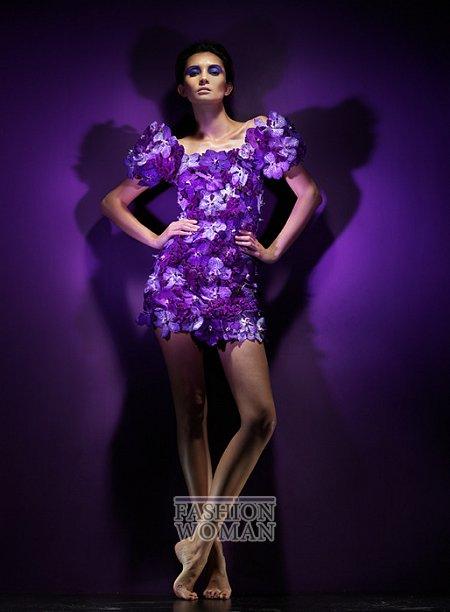 Платья из цветов фото №7