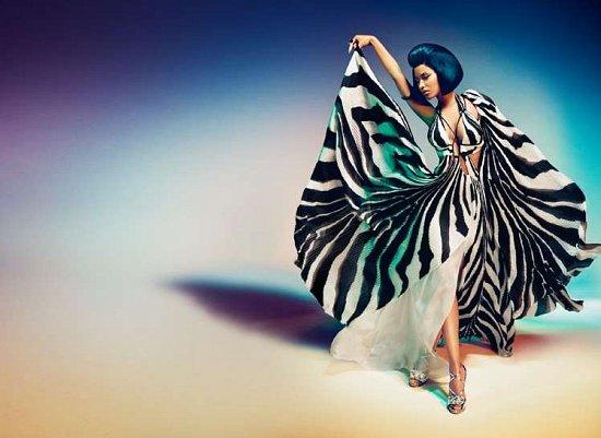 Ники Минаж в рекламной кампании Roberto Cavalli весна-лето 2015 фото №2