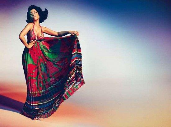 Ники Минаж в рекламной кампании Roberto Cavalli весна-лето 2015 фото №3