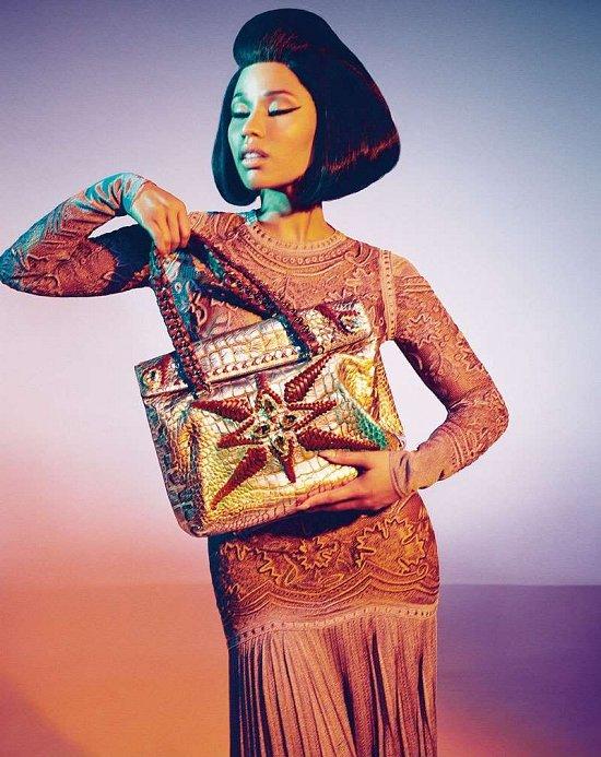 Ники Минаж в рекламной кампании Roberto Cavalli весна-лето 2015 фото №6