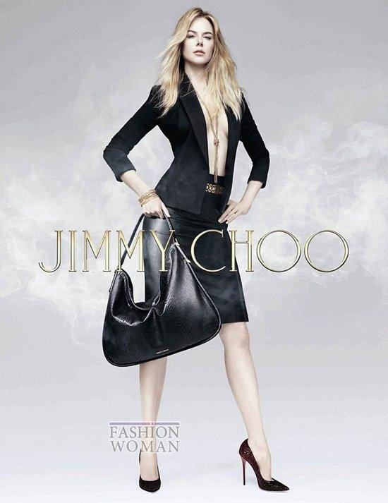 Николь Кидман в рекламной кампании Jimmy Choo Pre-Fall 2014