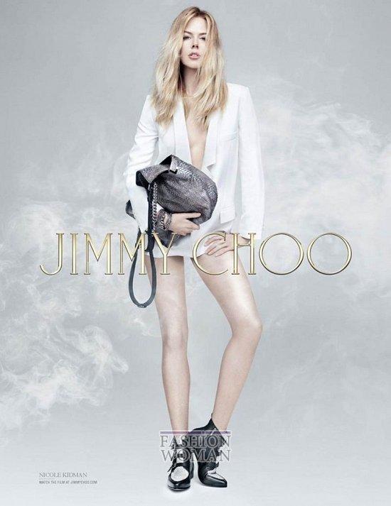 Николь Кидман в рекламной кампании Jimmy Choo Pre-Fall 2014  фото №4
