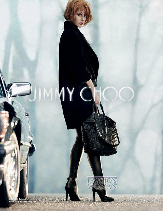 Николь Кидман в рекламной кампании Jimmy Choo фото №2