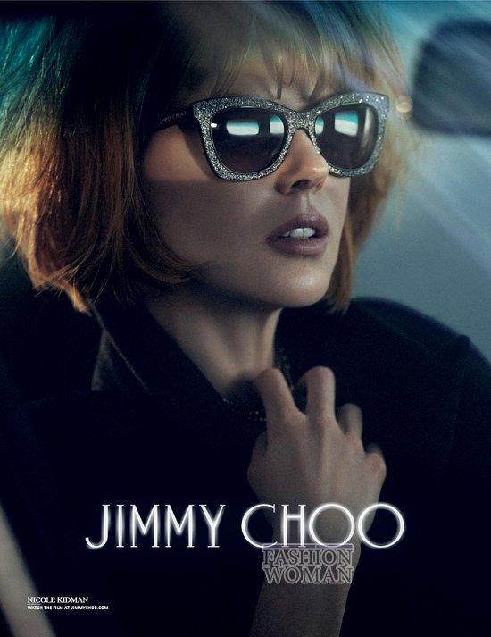 Николь Кидман в рекламной кампании Jimmy Choo фото №3