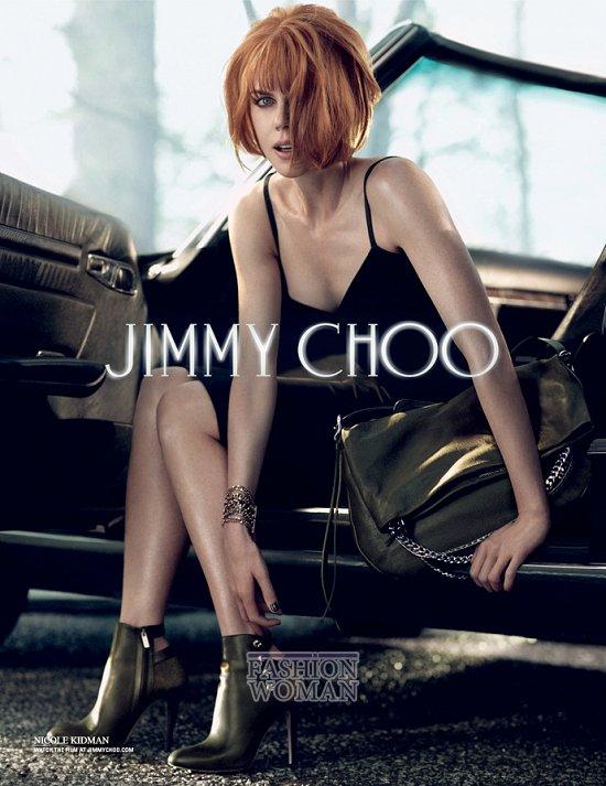 Николь Кидман в рекламной кампании Jimmy Choo фото №4
