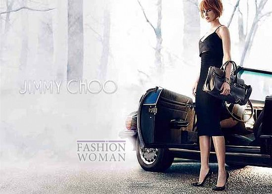 Николь Кидман в рекламной кампании Jimmy Choo фото №5