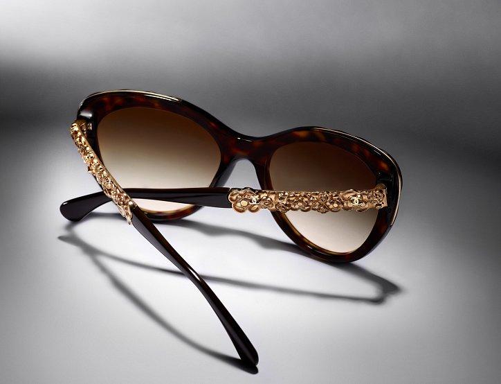 Новая коллекция солнцезащитных очков Chanel Bijou фото №3