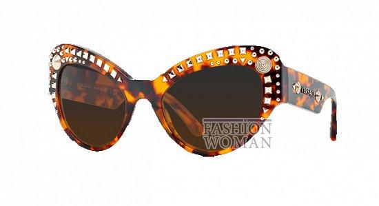 Новая коллекция солнцезащитных очков Versace