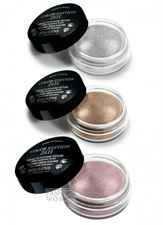 Новые кремовые тени для век Bourjois Color Edition 24h Eyeshadow  фото №1