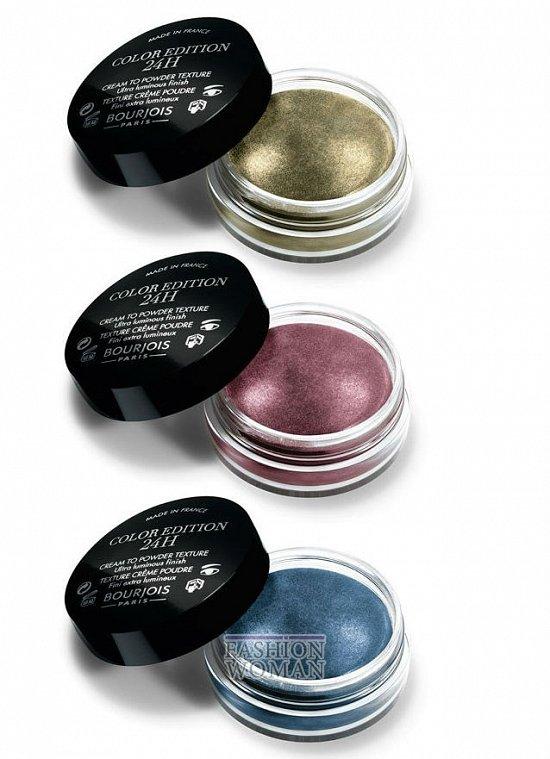 Новые кремовые тени для век Bourjois Color Edition 24h Eyeshadow  фото №2