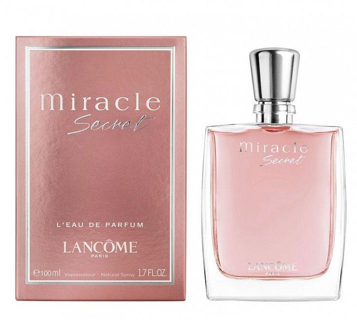 Новый аромат Miracle Secret Lancome