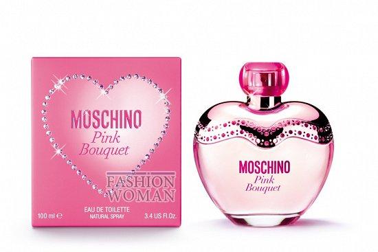 аромат Moschino Pink Bouquet