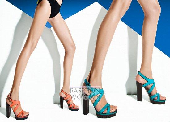 босоножки на каблуке Baldinini