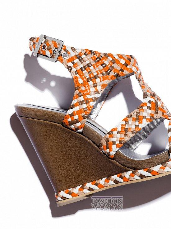 Обувь на платформе лето 2012