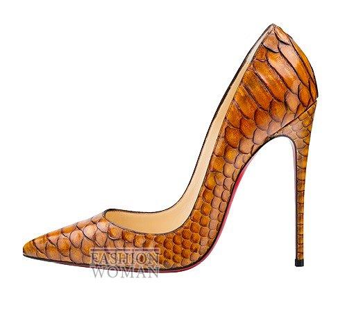 Обувь Christian Louboutin осень-зима 2015-2016 фото №25