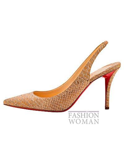 Женская обувь Christian Louboutin весна-лето 2014 фото №4