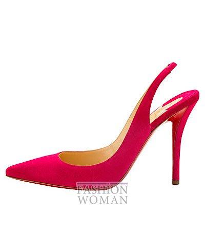 Женская обувь Christian Louboutin весна-лето 2014 фото №10