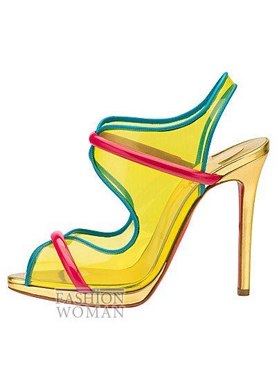 Женская обувь Christian Louboutin весна-лето 2014 фото №11