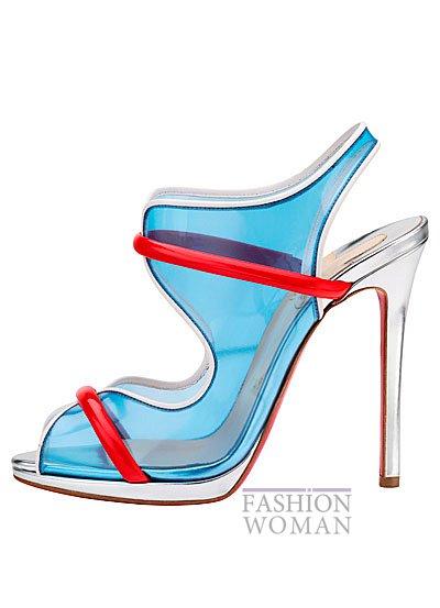 Женская обувь Christian Louboutin весна-лето 2014 фото №12
